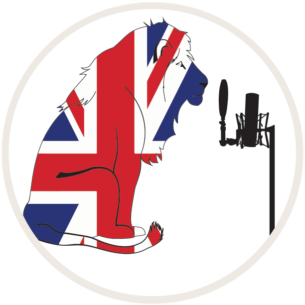 British Voice Lion logo